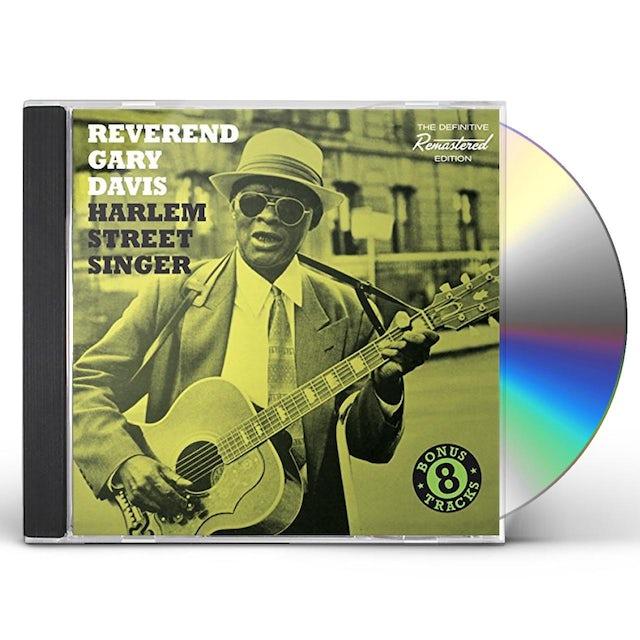 Reverend Gary Davis HARLEM STREET SINGER + 8 BONUS TRACKS CD