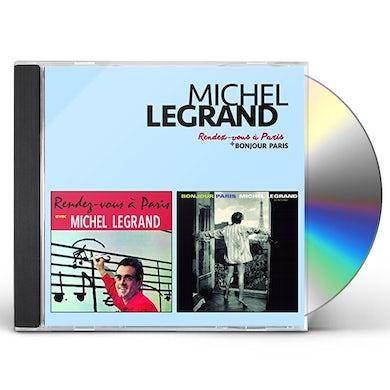 Michel Legrand RENDEZ-VOUS A PARIS + BONJOUR PARIS CD