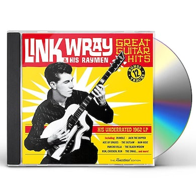 Link Wray GREAT GUITAR HITS (HIS UNDERRATED 1962 LP) + 12 CD