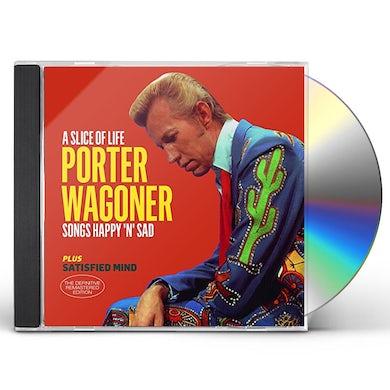Porter Wagoner SLICE OF LIFE / SATISFIED MIND + 6 BONUS TRACKS CD