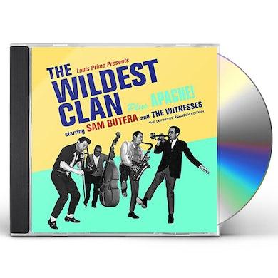 Sam Butera & The Witnesses WILDEST CLAN + APACHE! + 6 BONUS TRACKS CD