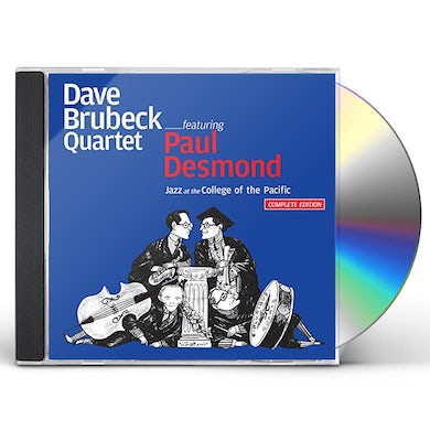 Dave Brubeck JAZZ AT THE COLLEGE OF THE PACIFIC + 12 BONUS CD