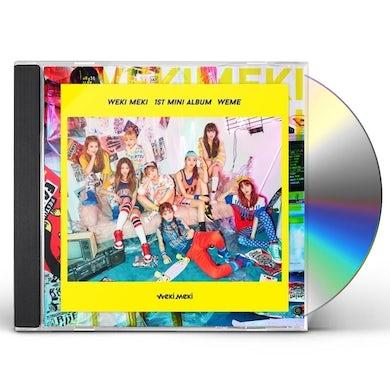Weki Meki WEME CD