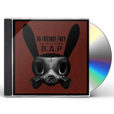 B.A.P BADMAN CD