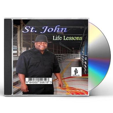 St. John LIFE LESSONS CD