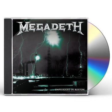 Megadeth UNPLUGGED IN BOSTON CD