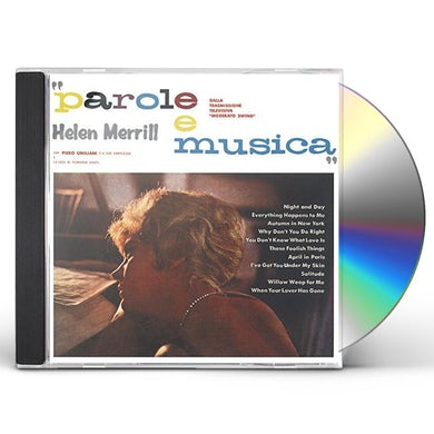 Helen Merrill PAROLE E MUSICA CD