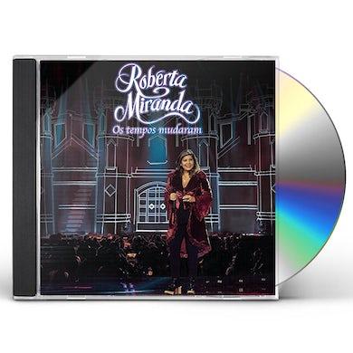 Roberta Miranda OS TEMPOS MUDARAM AO VIVO KIT CD