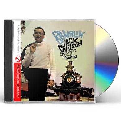 Jack Wilson RAMBLIN CD