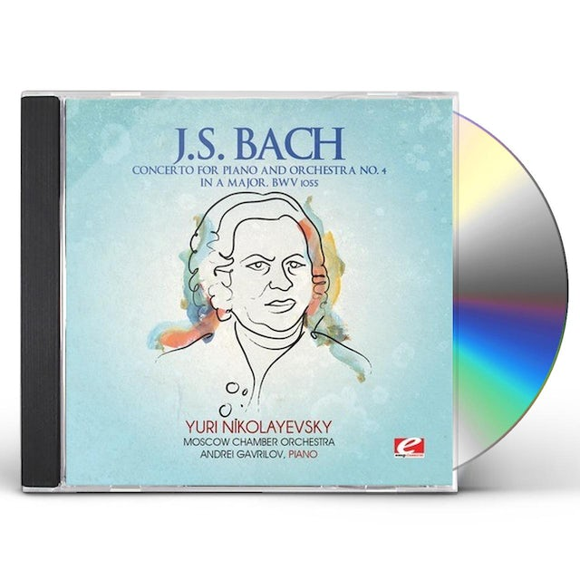 J.S. Bach CONCERTO FOR PIANO AND ORCHESTRA 4 CD