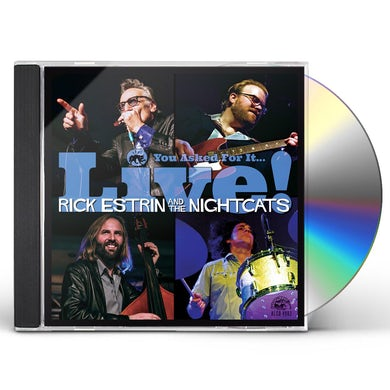 Rick Estrin & The Nightcats YOU ASKED FOR IT / LIVE CD