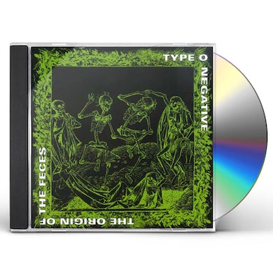 Type O Negative ORIGIN OF FECES CD