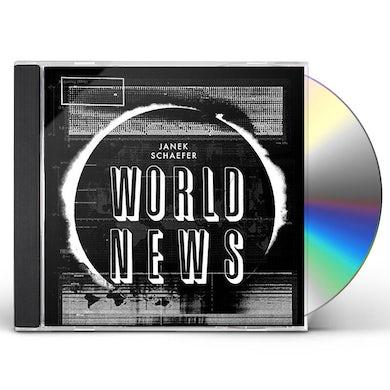 Janek Schaefer WORLD NEWS (WITH POSTER) CD