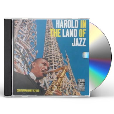 Harold Land HAROLD IN THE LAND OF JAZZ CD