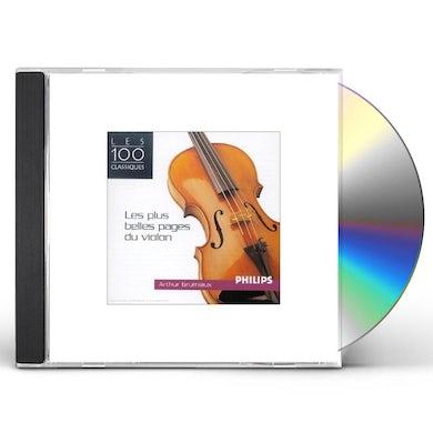 Arthur Grumiaux LES PLUS BELLES PAGES DU VIOLON CD