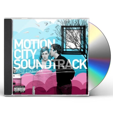 Motion City Soundtrack EVEN IF IT KILLS ME CD