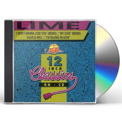 Lime I DON'T WANNA LOSE YOU CD