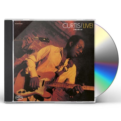 Curtis Mayfield CURTIS / LIVE CD
