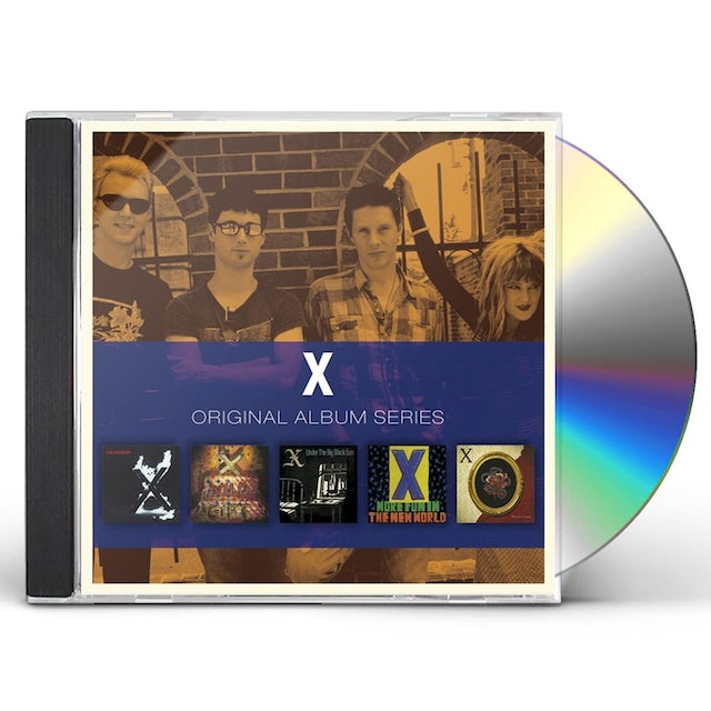 X ORIGINAL ALBUM SERIES CD