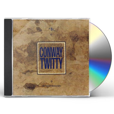Conway Twitty #1 THE WARNER BROS YEARS CD