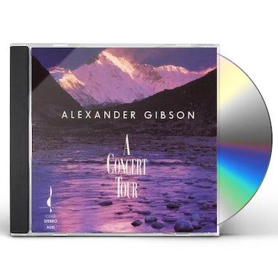 Alexander Gibson CONCERT TOUR CD