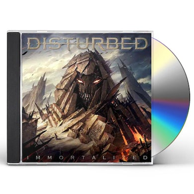 Disturbed IMMORTALIZED CD