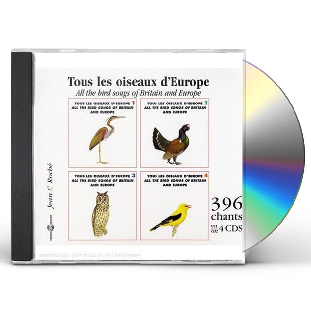 Sounds of Nature ALL THE BIRDS SONGS OF BRITAIN & EUROPE CD