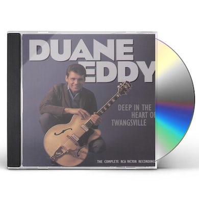 Duane Eddy DEEP IN THE HEART OF TWANGSVILLE CD