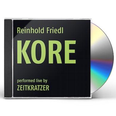 Reinhold Friedl / Zeitkratzer KORE CD