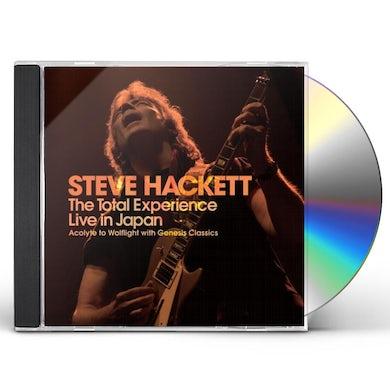 Steve Hackett TOTAL EXPERIENCE: LIVE IN JAPAN 2016 CD