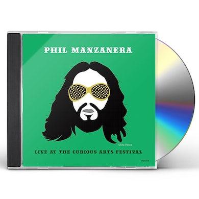 Phil Manzanera LIVE AT THE CURIOUS ARTS FES 2015 CD