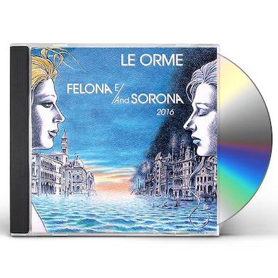 Le Orme FELONA E/AND SOLONA 2016 CD