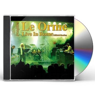 Le Orme LIVE IN ROME CD