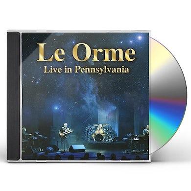 Le Orme LIVE IN PENNSYLVANIA CD