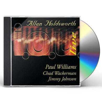 Allan Holdsworth I.O.U. LIVE 1984 CD
