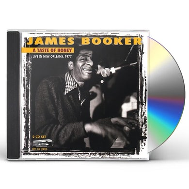 James Booker TASTE OF HONEY: LIVE IN NEW ORLEANS 1977 CD