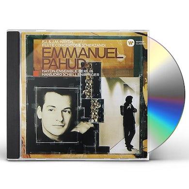 Emmanuel Pahud HAYDN: FLUTE CONCERTOS CD
