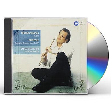 Emmanuel Pahud BRAHMS: CLARINET SONATAS CD