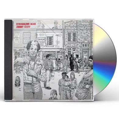 Jimmy Cliff STRUGGLIN MAN: LIMITED CD