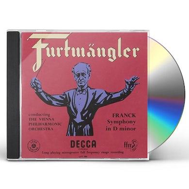 Wilhelm Furtwangler FRANCK: SYMPHONY IN D MINOR / BRAHMS CD