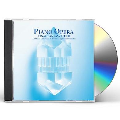 Game Music PIANO OPERA FINAL FANTASY I / II / Original Soundtrack CD