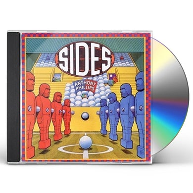 Anthony Phillips SIDES: 3CD/1DVD DELUXE BOXSET EDITION CD