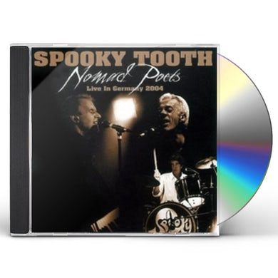 Spooky Tooth NOMAD POETS: LIVE IN GERMANY 2004 CD