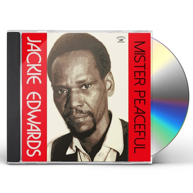 Jackie Edwards MISTER PEACEFUL CD