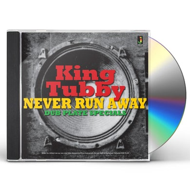 King Tubby NEVER RUN AWAY / DUB PLATE SPECIALS CD