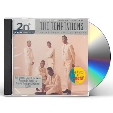 The Temptations 20TH CENTURY MASTERS CD