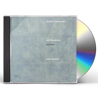 Vassilis Tsabropoulos ACHIRANA CD