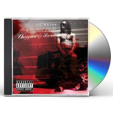 Lil Wayne THA CARTER 2: CHOPPED & SCREWED CD