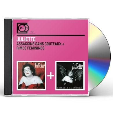 JULIETTE ASSASSINS SANS COUTEAUX/RIMES CD