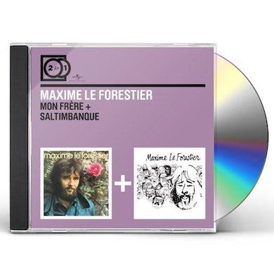 Maxime Le Forestier MON FRERE/SALTIMBANQUE CD